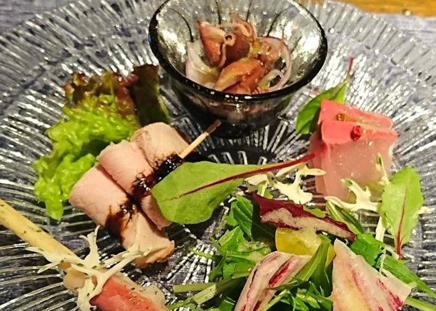 本日の前菜盛り合わせ(5種)